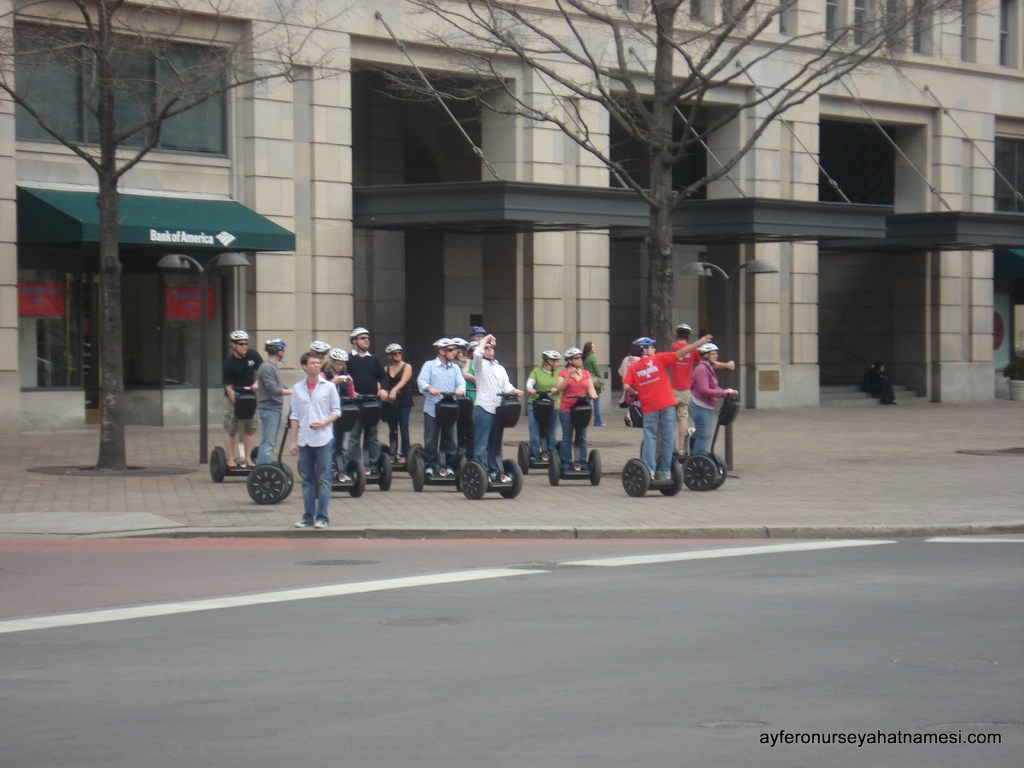 Segway gezisi - Washington DC
