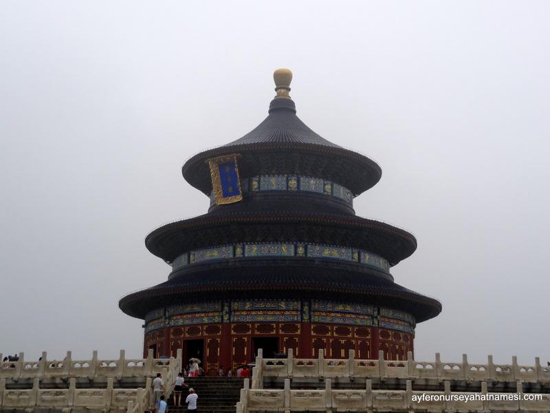 Cennet Tapınağı (Temple of Heaven) - Pekin