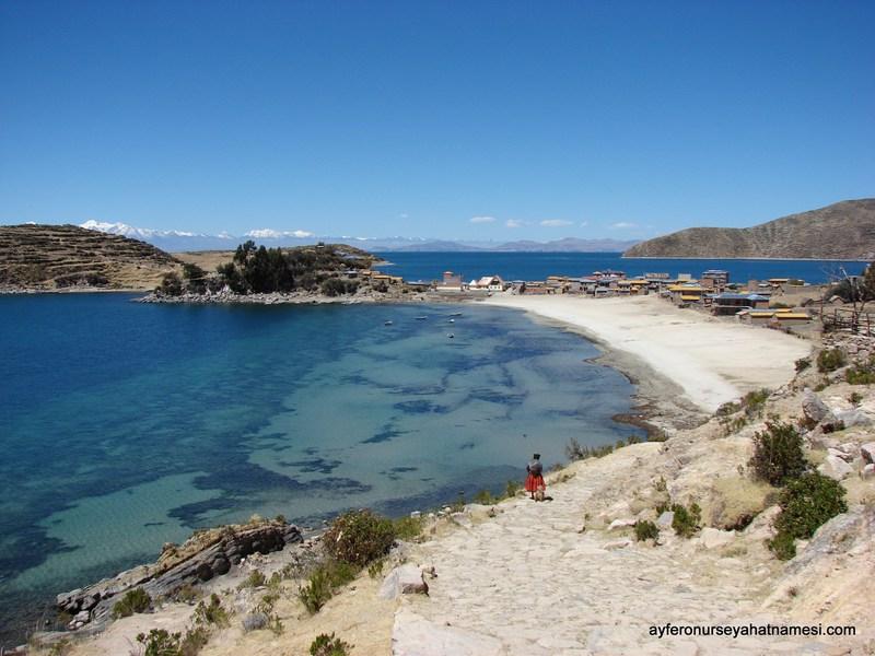 Güneş Adası (Isla del Sol) - Titicaca Gölü, Copacabana