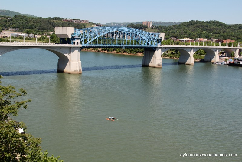 Walnut Köprüsü ve Tennessee Nehri