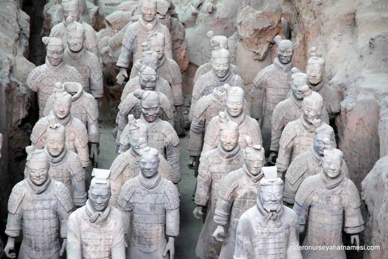 Terracotta Askerleri - Xian
