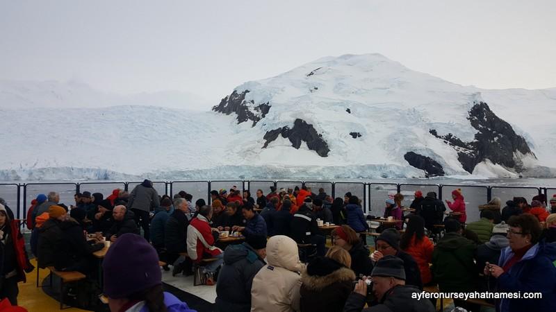 Antarktika'da barbükü