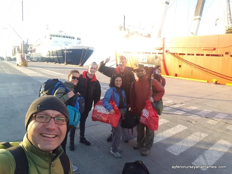 Antarktika'dan Ushuaia'ya Dönüş