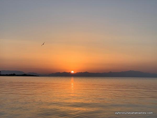 Gün batımı Elafonisos
