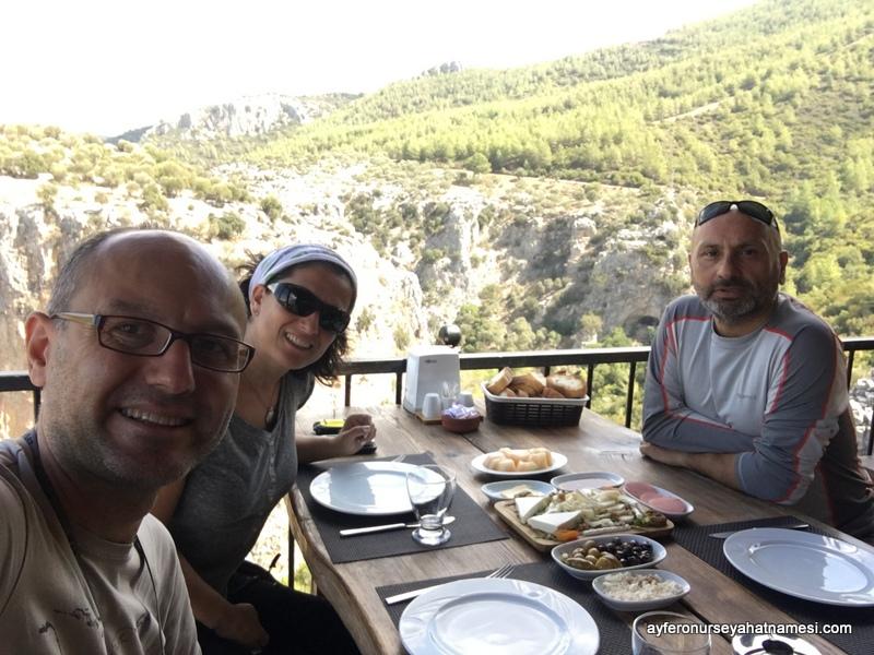 Kahvaltı Gökçeler Kanyonu