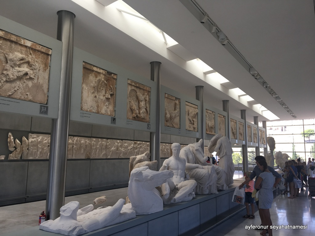 Modern Akropolis Müzesi - Atina