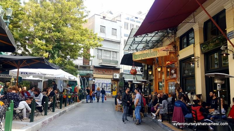Psyri - Atina, Yunanistan