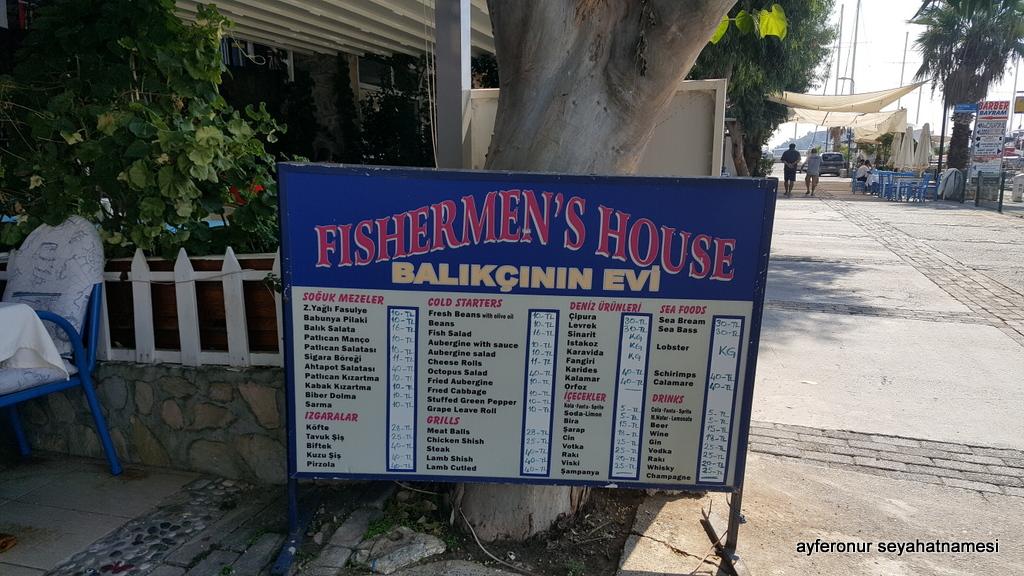 Bozburun restoranlar...