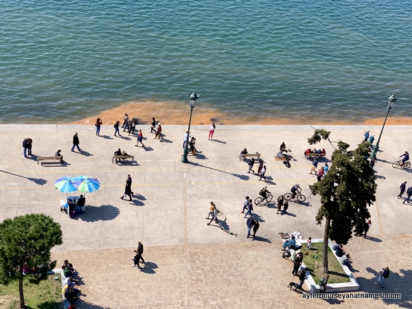 Selanik sahili - Yunanistan