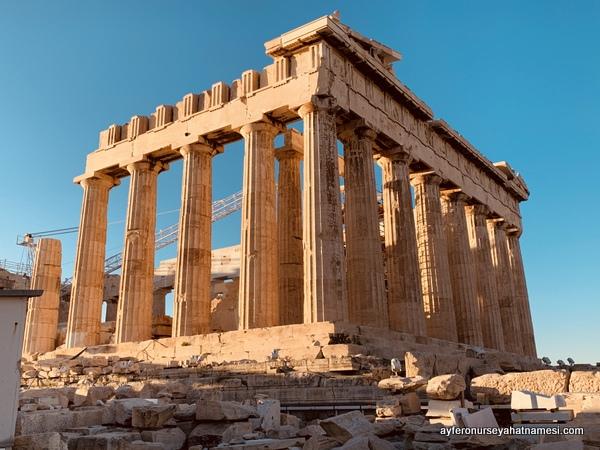 Parthenon Tapınağı - Akropolis, Atina