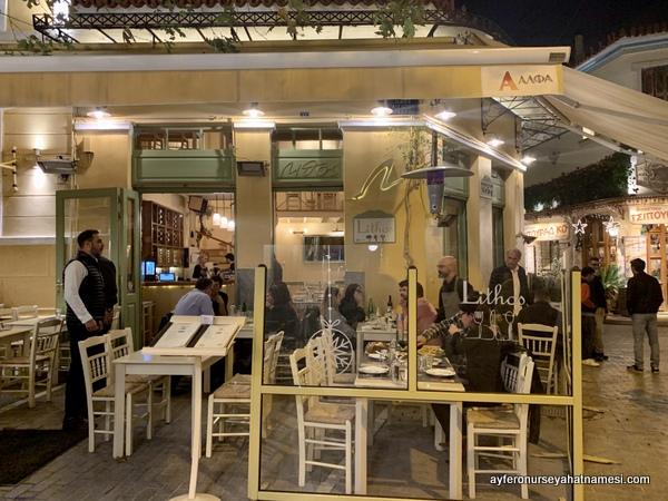 Lithos restoran Atina