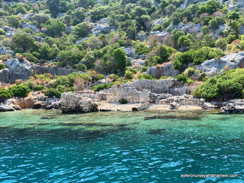 Kekova Island and Sunken City