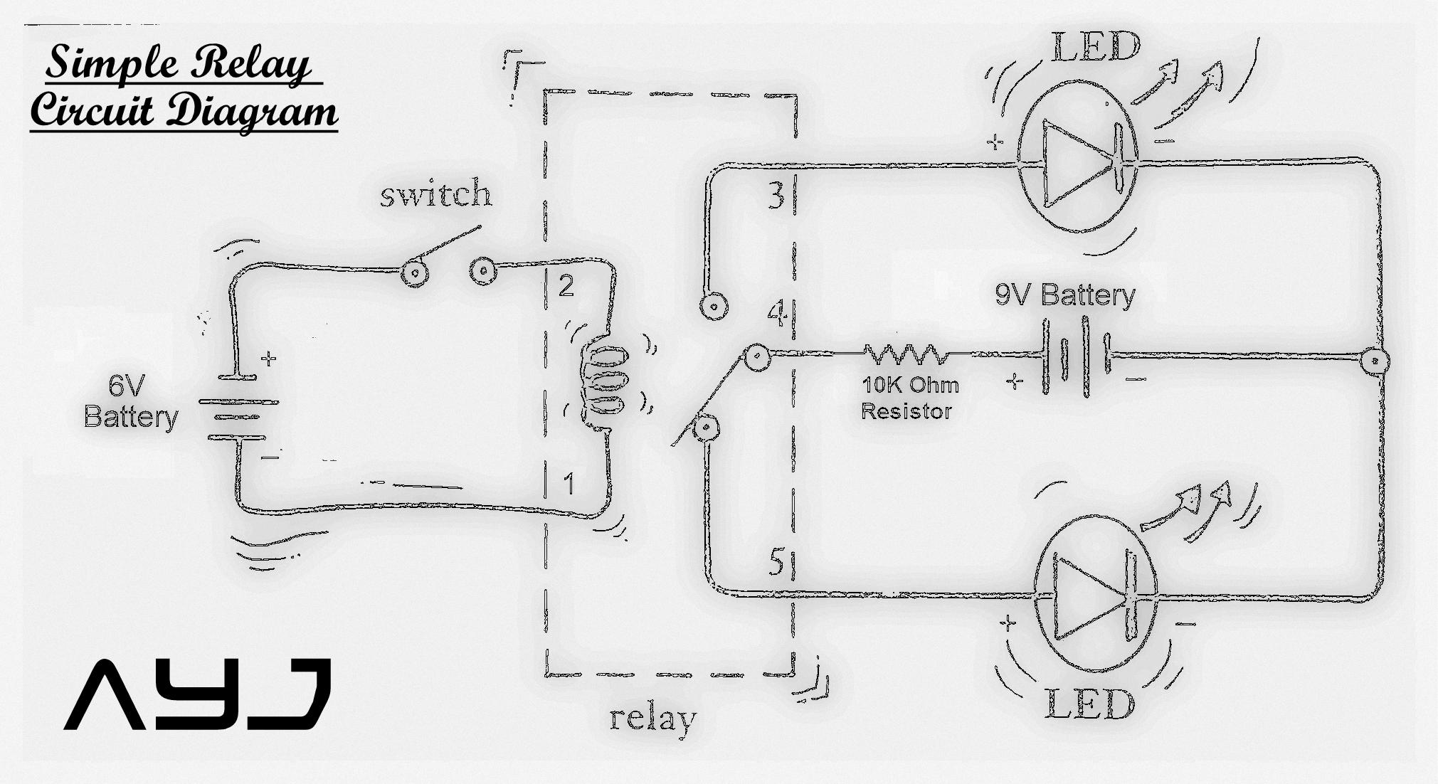 Hi Lo Relay Wiring Diagram