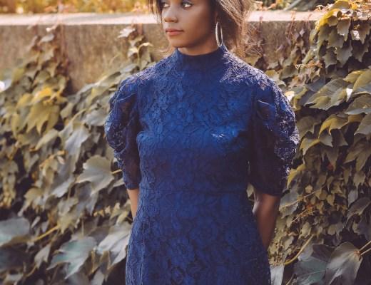 robe à dentelle