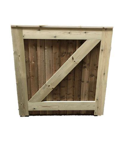 Closeboard Gate Back Small