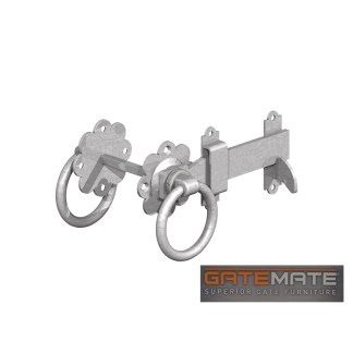 Gatemate Ring Latch Galvanised