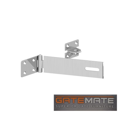 Gatemate Safety Hasp & Staple Galvanised
