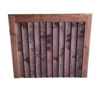 Closeboard Gate Brown Small