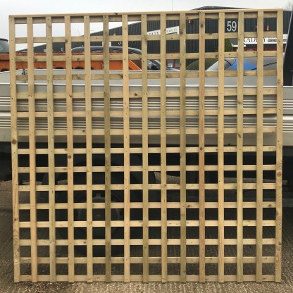 Trellis Panel 6ft x 6ft Green Treated