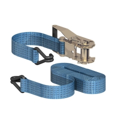 SITEMATE Ratchet Tie Down with Chassis Hooks - Heavy Duty