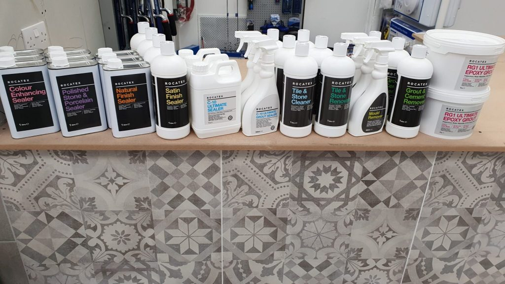 tile sealers and cleaners