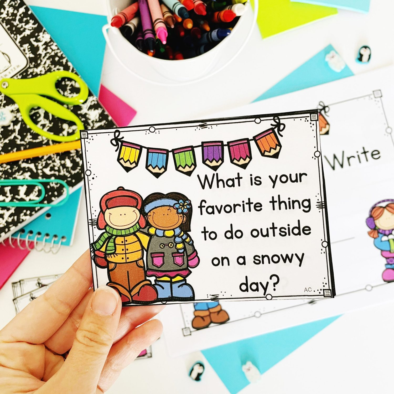 Winter Think Draw Write