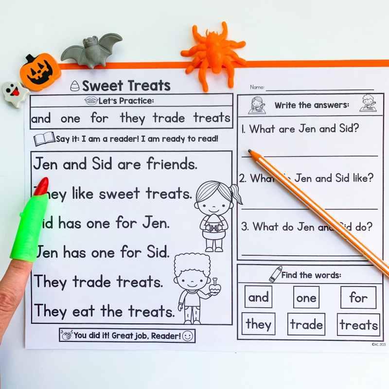 Halloween Printable Passages