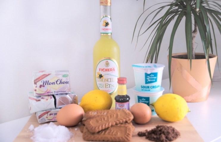 Ingrediënten Limoncello cheesecake