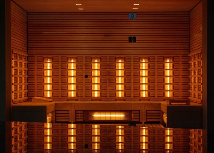 Infraroodcabine sauna warmtestraling