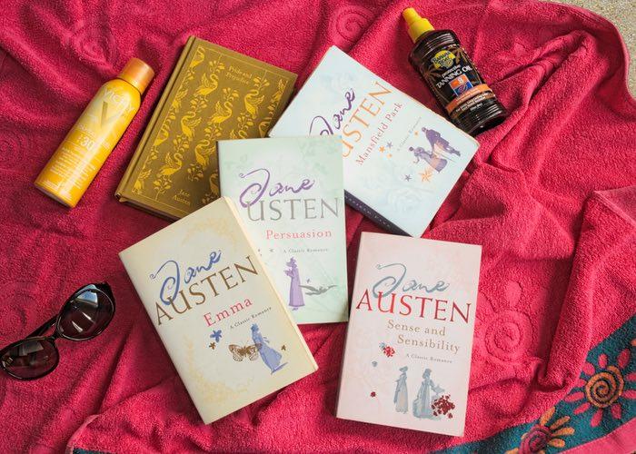 Jane Austen zomerboeken