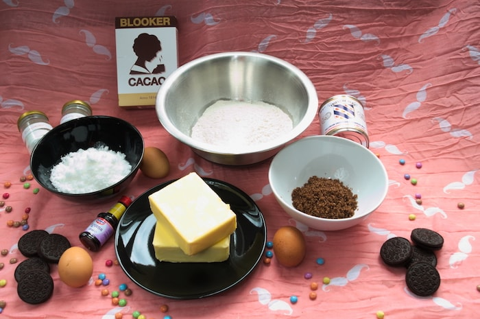 Ingredienten Extremely Slutty Brownies