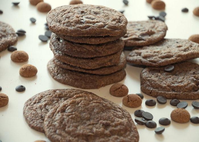 Chocolate chip kruidnootjes cookies