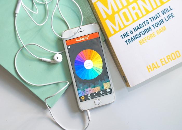 Meditatie app en miracle morning