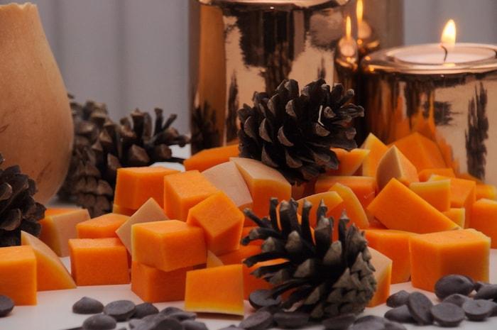 Pompoen voor pumpkin spice muffins