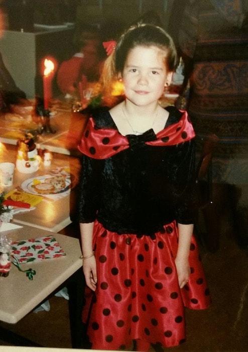 Ayla met kerstdiner op school