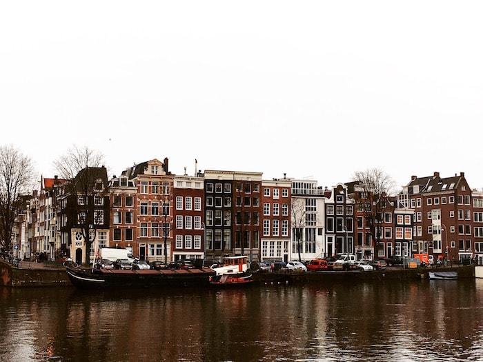 Grachtenpanden Amsterdam