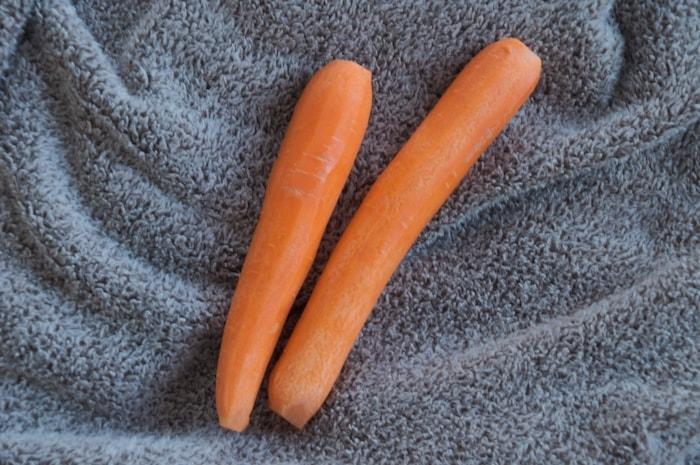 Samen afvallen; twee worteltjes