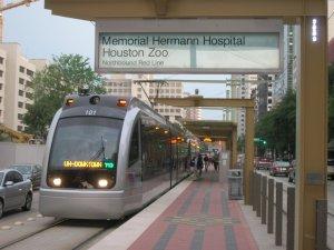 Train to Houston Zoo