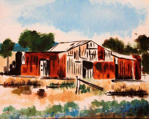AYLUS_Art_Red_Barn_Farm