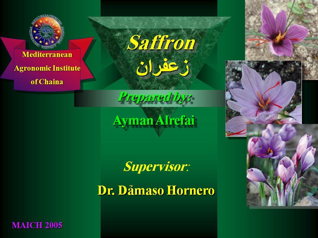 safron