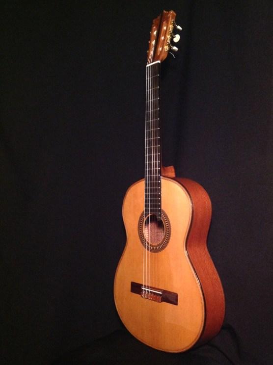 Guitarra flamenca de Brazilian Lacewood