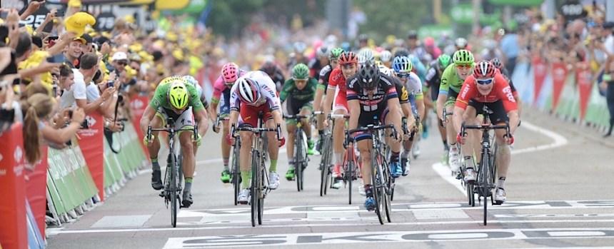 2015, Tour de France, tappa 15 Mende - Valence, Lotto Soudal 2015, Giant - Alpecin 2015, Katusha 2015, Tinkoff - Saxo 2015, Greipel Andre, Degenkolb John, Kristoff Alexander, Sagan Peter, Valence