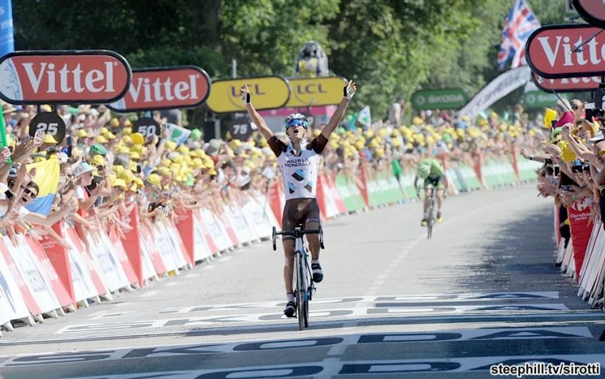 2015, Tour de France, tappa 08 Rennes - Mur de Bretagne, Ag2r La Mondiale 2015, Vuillermoz Alexis, Mur de Bretagne