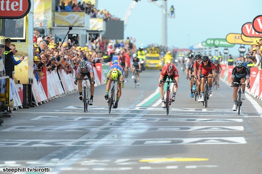 2015, Tour de France, tappa 02 Utrecht - Zelande, Lotto Soudal 2015, Tinkoff - Saxo 2015, Etixx - Quick Step 2015, Trek Factory Racing 2015, Greipel Andre, Sagan Peter, Cavendish Mark, Cancellara Fabian, Zelande