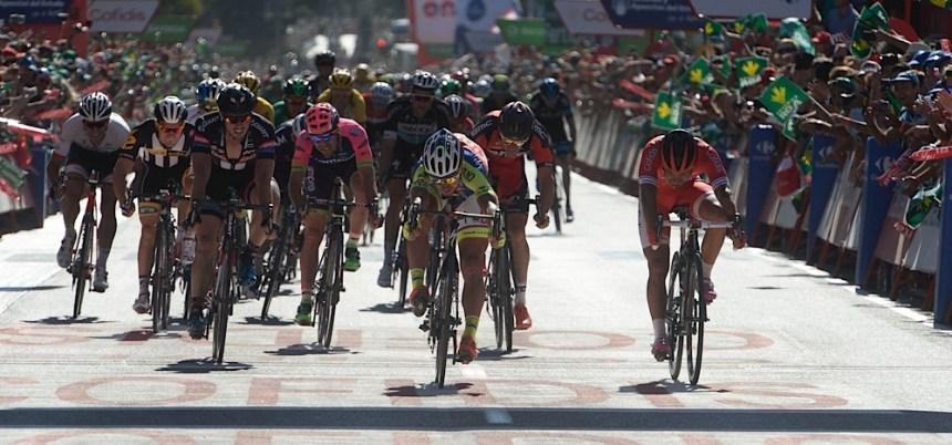 2015, Vuelta a Espana, tappa 03 Mijas - Malaga, Tinkoff - Saxo 2015, Cofidis 2015, Sagan Peter, Bouhanni Nacer, Malaga