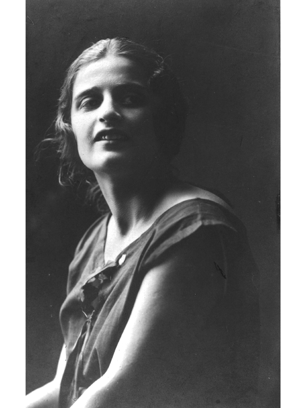 Ayn Rand, St. Petersburg, 1925
