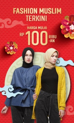 Promo Fashion Muslim Terkini