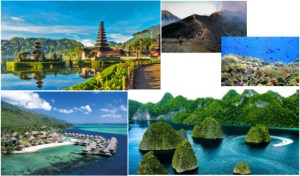tempat traveling paling eksotis di Indonesia