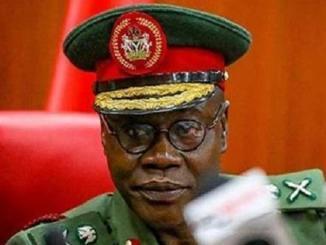 Chief of Army Staff, Farouk Yahaya