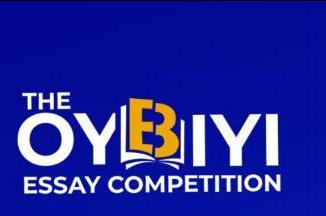The Oyebiyi Essay Competition